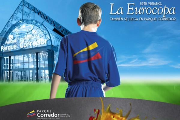La Eurocopa en Parque Corredor