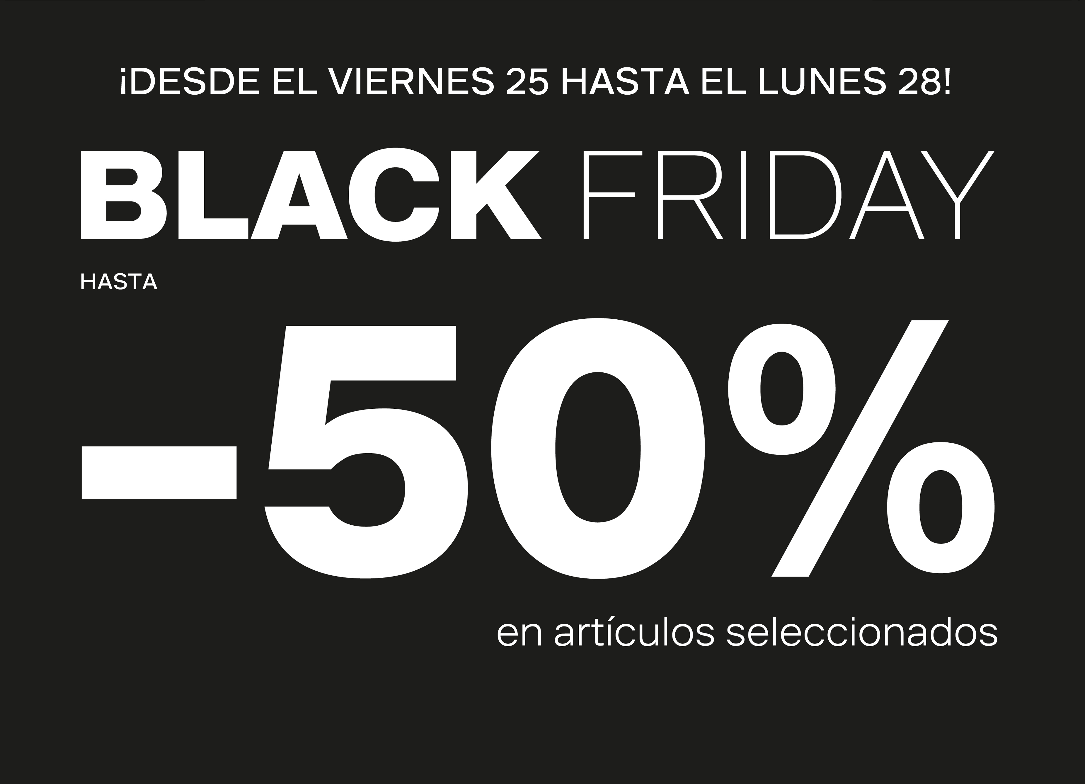 black friday en deichmann hasta el 50 de descuento parque corredor. Black Bedroom Furniture Sets. Home Design Ideas