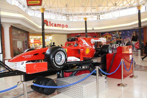 Simulador Ferrari Fórmula 1