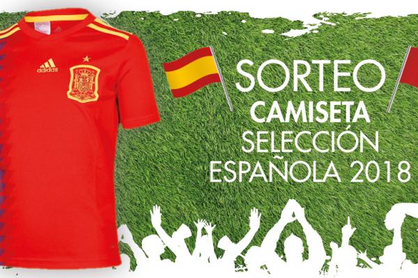 Sorteo camiseta Selección Española
