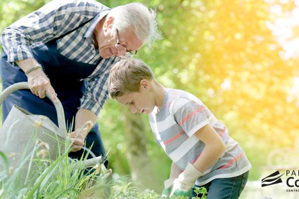 Taller especial con los abuelos