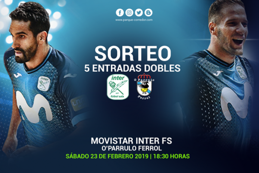 Sorteo entradas Movistar Inter